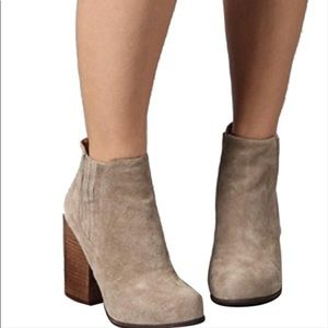 Jeffrey Campbell Knockout Rumble Suede Ankle Boot